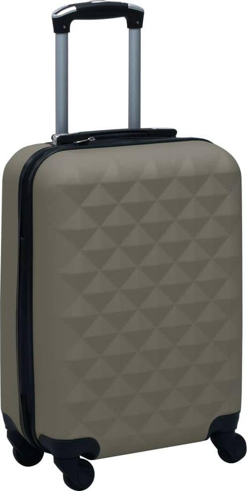 vidaXL Twarda walizka na kółkach, antracytowa, ABS 1