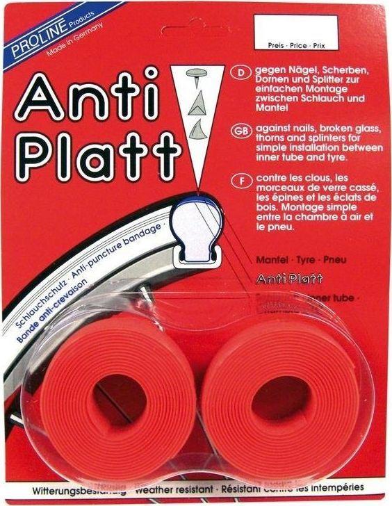 Proline Wkładka antyprzebiciowa Anti-Platt do opon 28 (25-28/622) czerwona 25 mm, para uniwersalny 1
