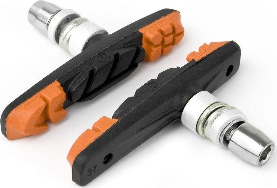 Accent Klocki hamulcowe Accent V-Brake 3-Function pomarańczowo-czarno-pomarańczowe uniwersalny 1