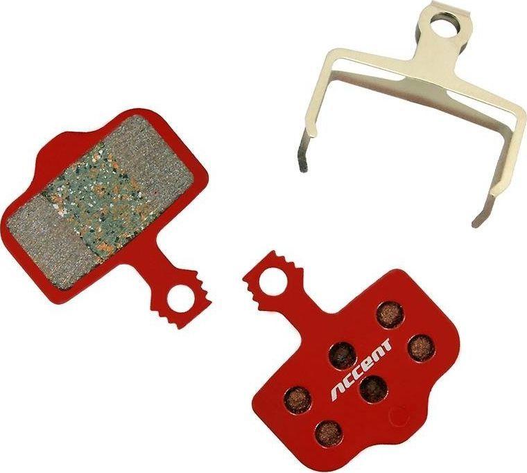 Accent Okładziny/klocki hamulcowe Accent organiczno-metaliczne Avid Elixir Avid DB 3/5 SRAM XX, X0 uniwersalny 1