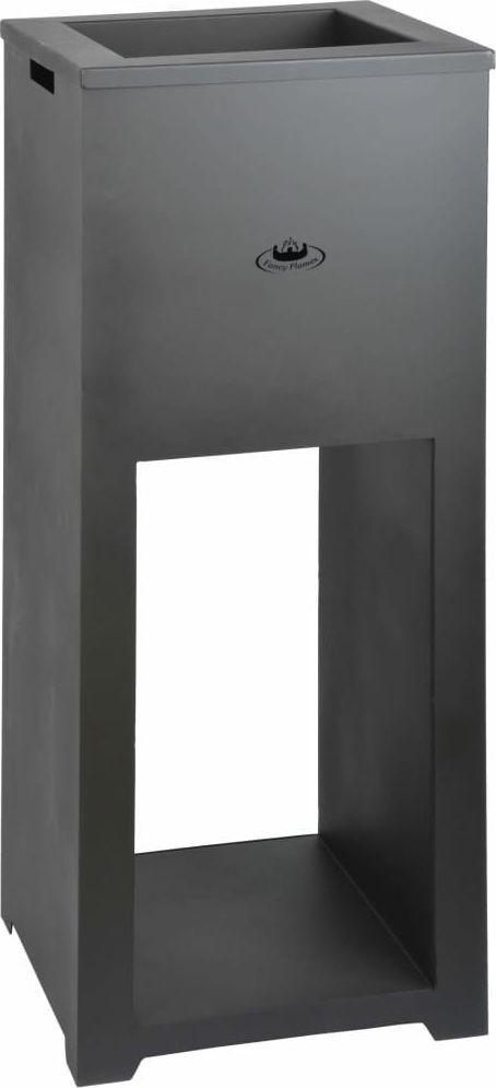 vidaXL Esschert Design Palenisko ze stojakiem na drewno, stal, FF278 1