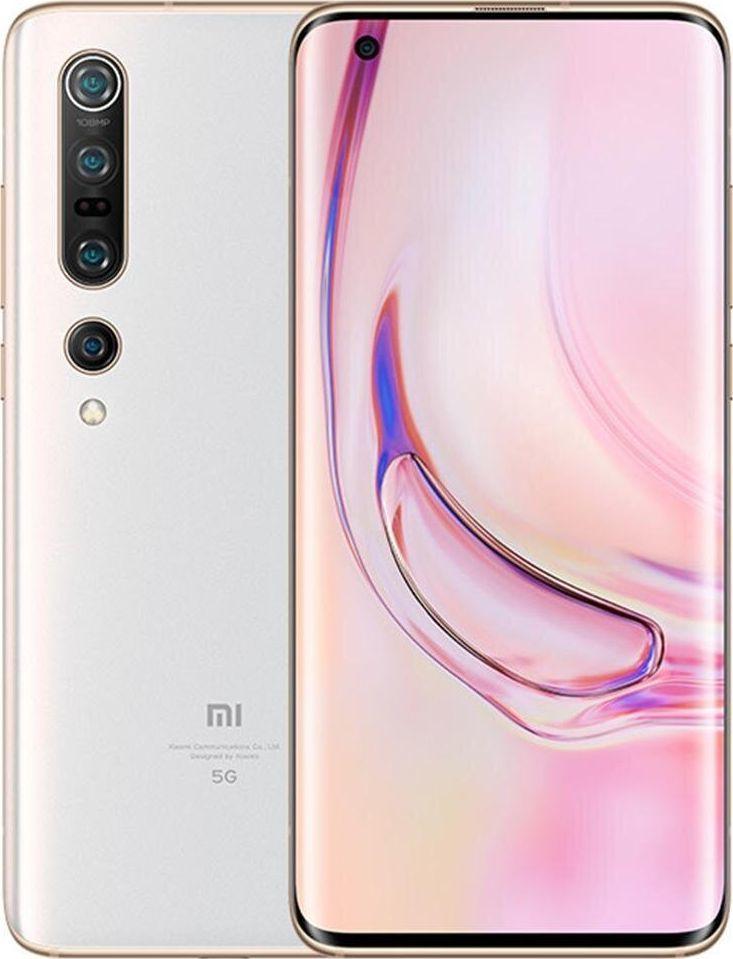 Smartfon Xiaomi Mi 10 Pro 5G 256 GB Biały  (MZB9038EU) 1