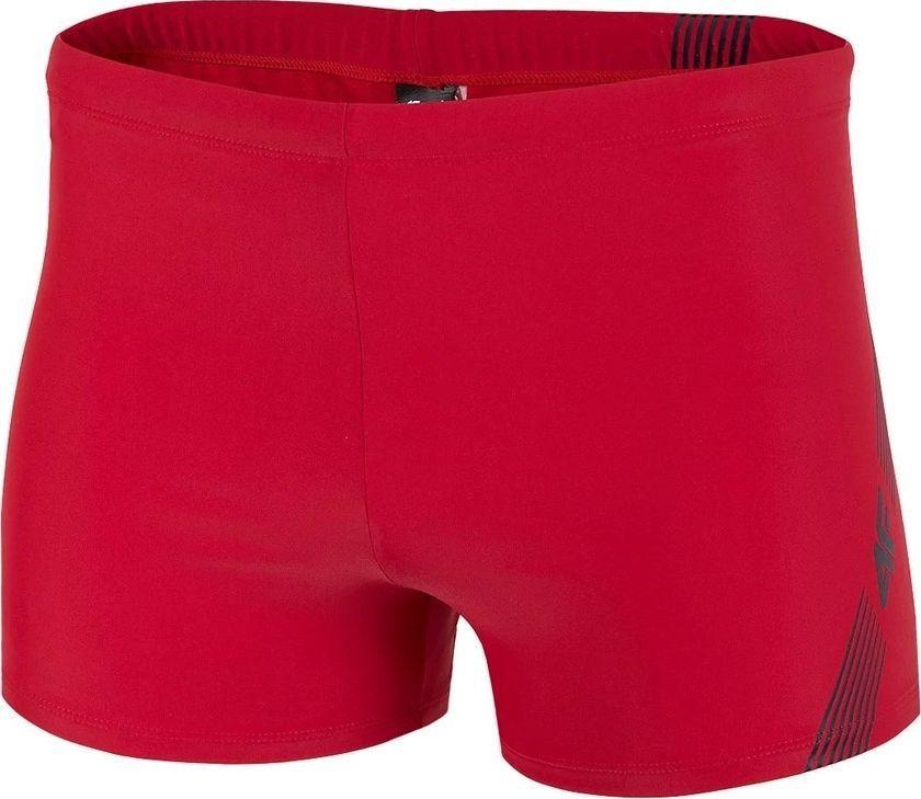 4f Kąpielówki 4F H4L20-MAJM003 62S H4L20-MAJM003 62S czerwony S 1