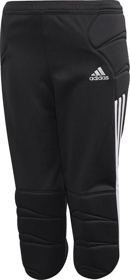 Adidas Spodnie bramkarskie dla dzieci  Tierro 13 Goalkeeper 3/4 Pant czarne FS0171 128cm 1