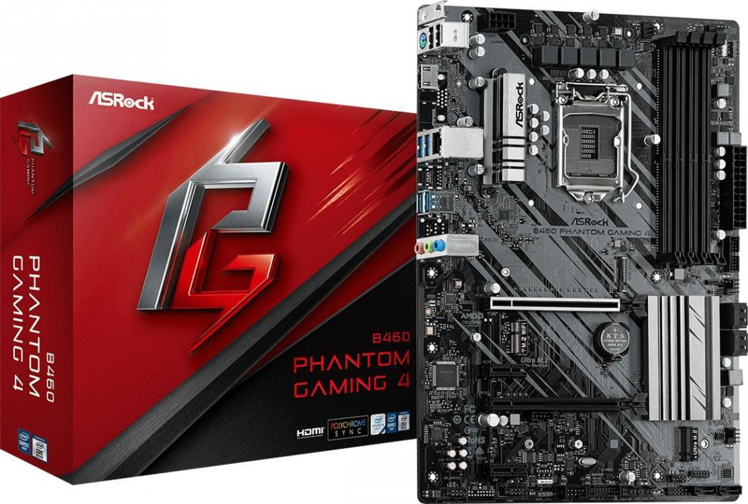 Płyta główna ASRock B460 Phantom Gaming 4 1