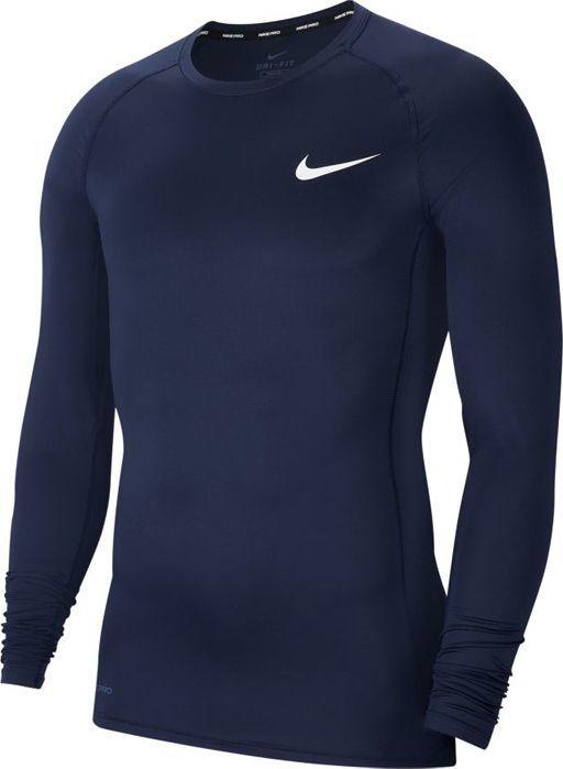 Nike Koszulka męska Pro Top Compression Crew granatowa r. M (BV5588-452) 1