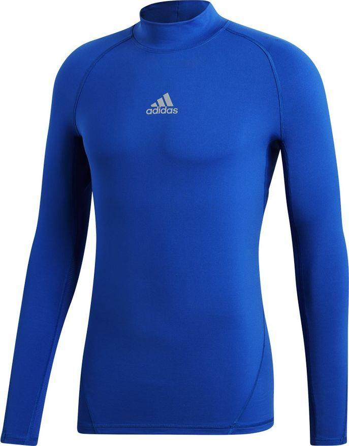 Adidas Koszulka męska AlphaSkin Climawarm niebieska r. S (DP5533)  1