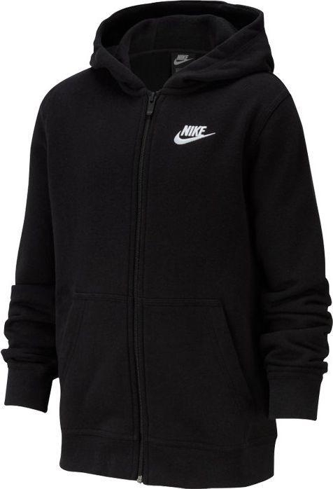 Nike Nike JR NSW Hoodie Club bluza 010 : Rozmiar - 140 cm (BV3699-010) - 20401_174103 1