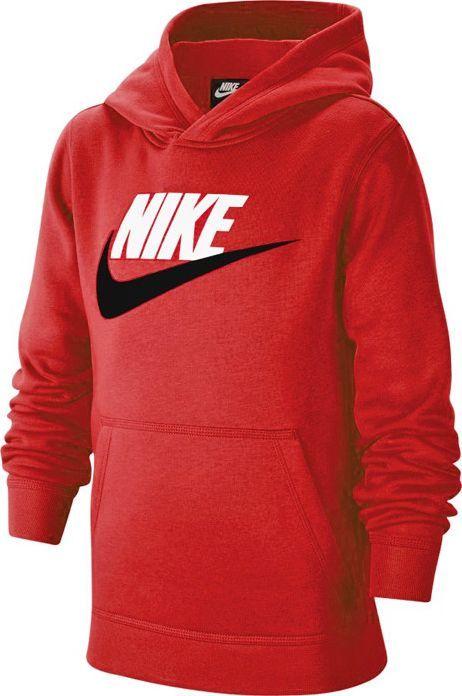 Nike Nike JR NSW Club Fleece bluza 657 : Rozmiar - 152 cm (CJ7861-657) - 23479_200243 1