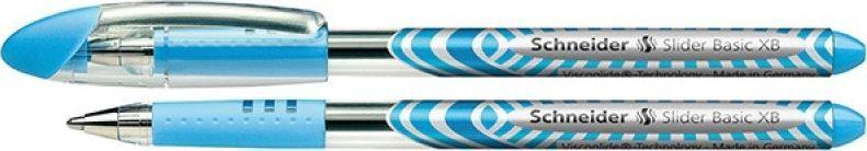 Schneider Długopis SCHNEIDER Slider Basic, XB, jasnoniebieski 1