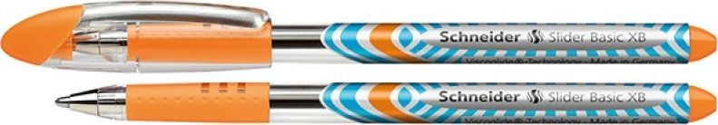 Schneider Długopis SCHNEIDER Slider Basic, XB, pomarańczowy 1