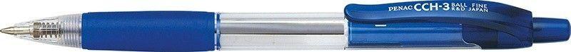 Penac Długopis automatyczny PENAC CCH3 0,7mm, niebieski 1