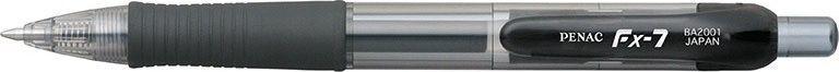 Penac Długopis automatyczny żelowy PENAC FX7 0,7mm, czarny 1