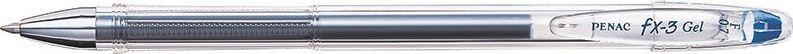 Penac Długopis żelowy PENAC FX3 0,7mm, niebieski 1