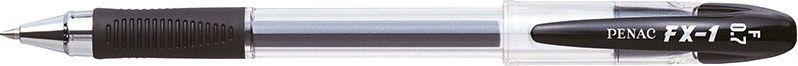Penac Długopis żelowy PENAC FX1 0,7mm, czarny 1