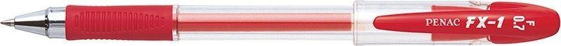 Penac Długopis żelowy PENAC FX1 0,7mm, czerwony 1