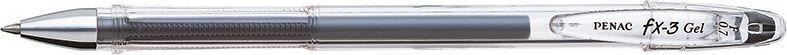 Penac Długopis żelowy PENAC FX3 0,7mm, czarny 1