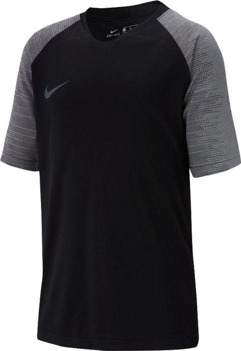 Nike Nike JR Breathe Strike Top T-shirt 010 : Rozmiar - 140 cm (AT5885-010) - 17248_183094 1