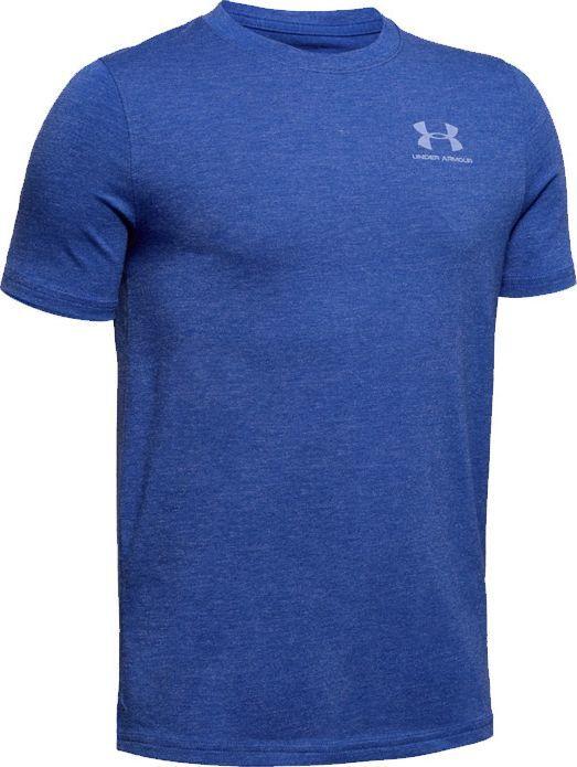 Under Armour Under Armour JR Charged Cotton T-shirt 401 : Rozmiar - 152 cm (1347096-401) - 18817_184448 1