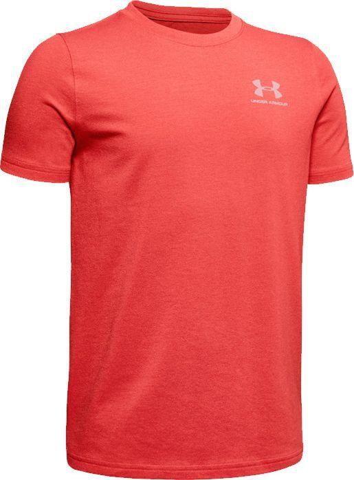 Under Armour Under Armour JR Charged Cotton T-shirt 646 : Rozmiar - 152 cm (1347096-646) - 18791_170626 1