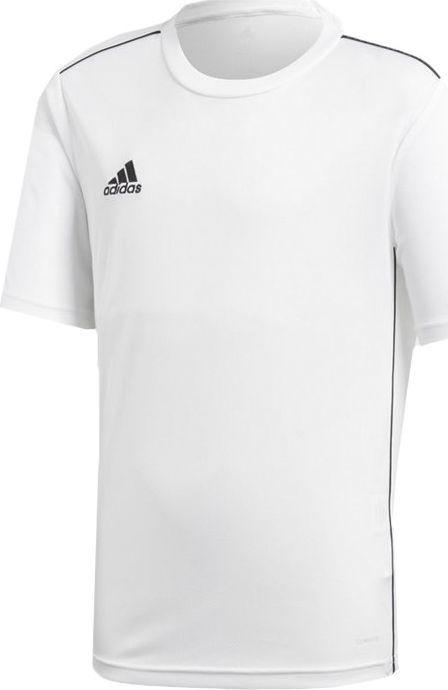Adidas adidas JR T-Shirt Core 18 Training Jersey 497 : Rozmiar - 128 cm (CV3497) - 13818_174046 1