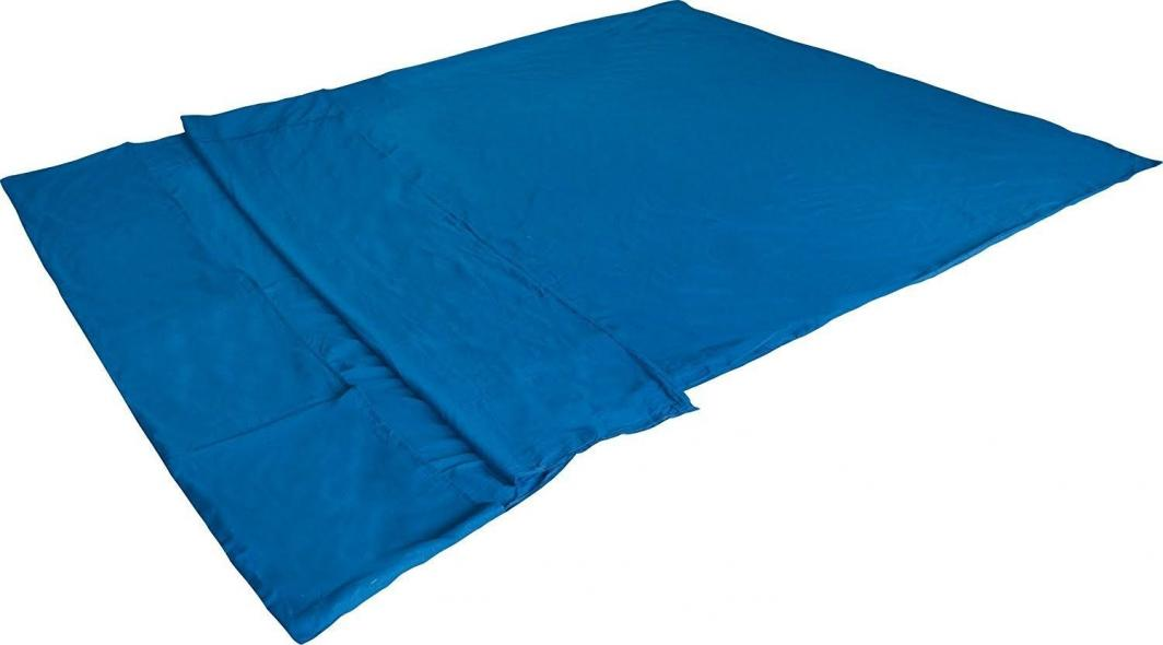 High Peak Wkładka do śpiwora Tick Double/Licat niebieska (23508) 1