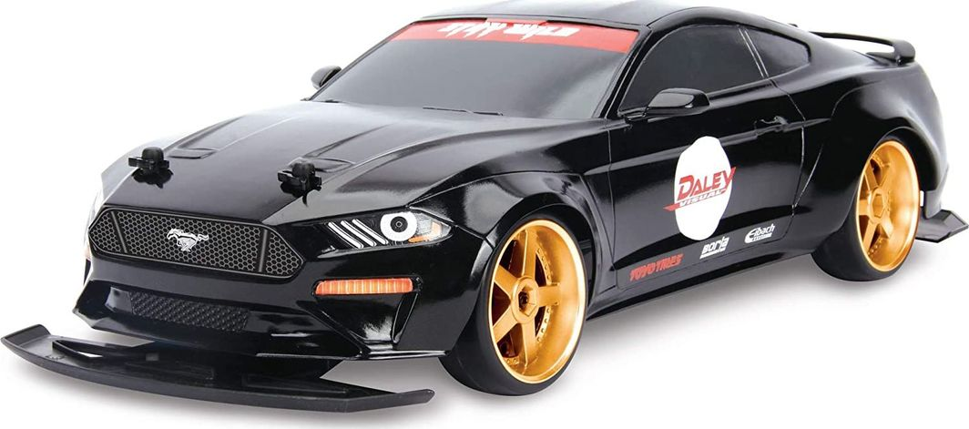 Dickie Auto RC Drift Ford Mustang black 1