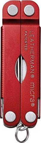 Leatherman Leatherman Multitool Micra red - LTG64330181N 1