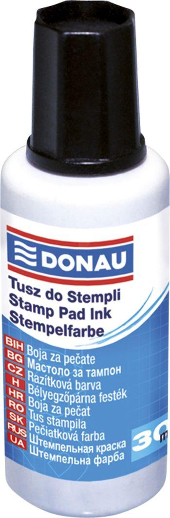 Donau Tusz do pieczątek DONAU, 30ml, czarny 1