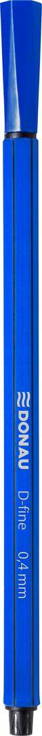 Donau Cienkopis DONAU D-Fine, 0,4 mm, niebieski 1