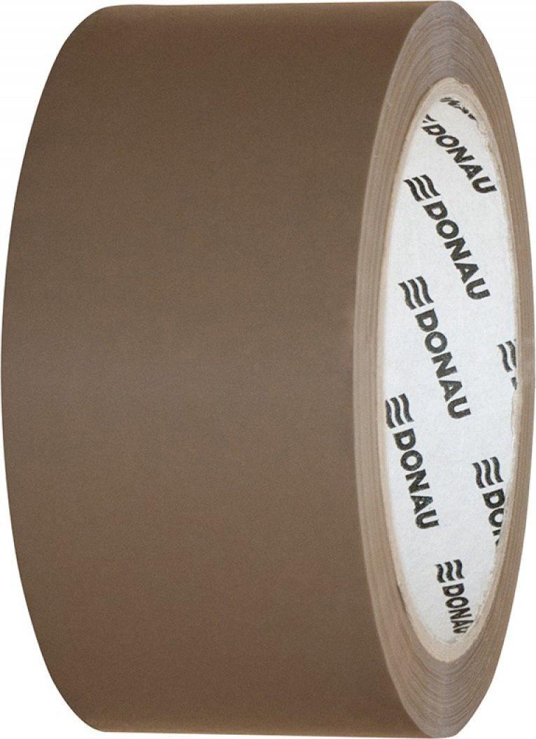 Donau Taśma pakowa DONAU Hot-Melt , 48mm, 66m, 50mikr., brązowa 1