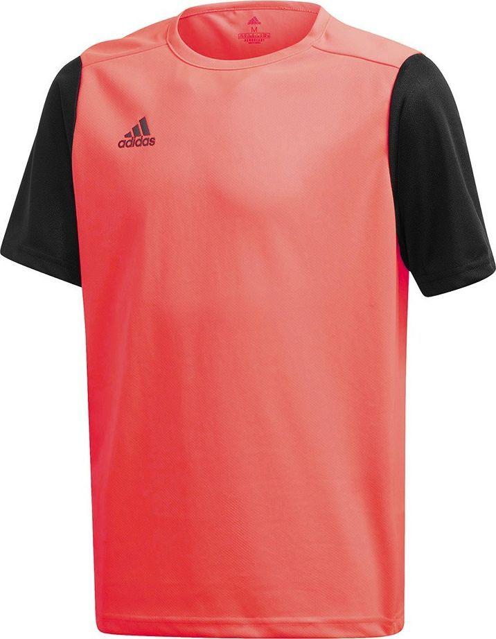 Adidas Koszulka dla dzieci adidas Estro 19 Jersey JUNIOR czerwono-czarna FR7118/FT6680 1