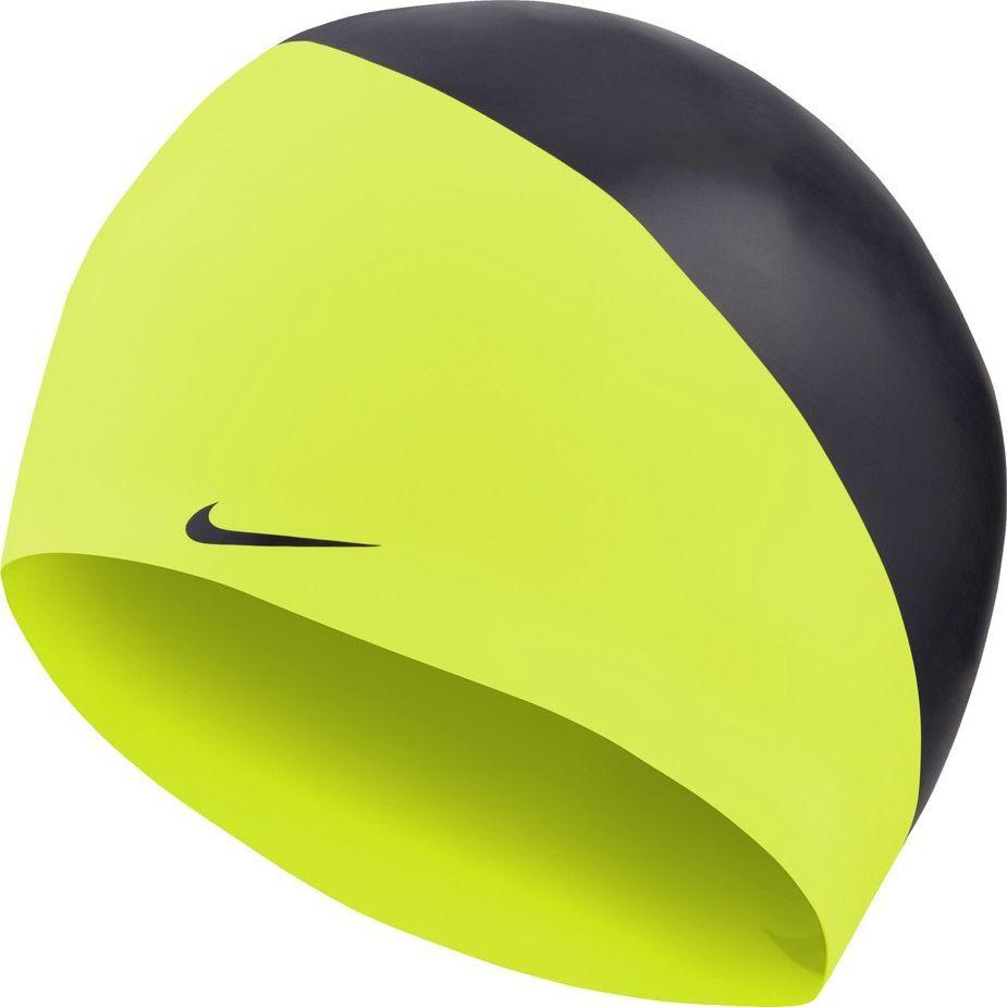 Nike Czepek pływacki Nike Os Slogan żółto-czarny NESS9164-737 1