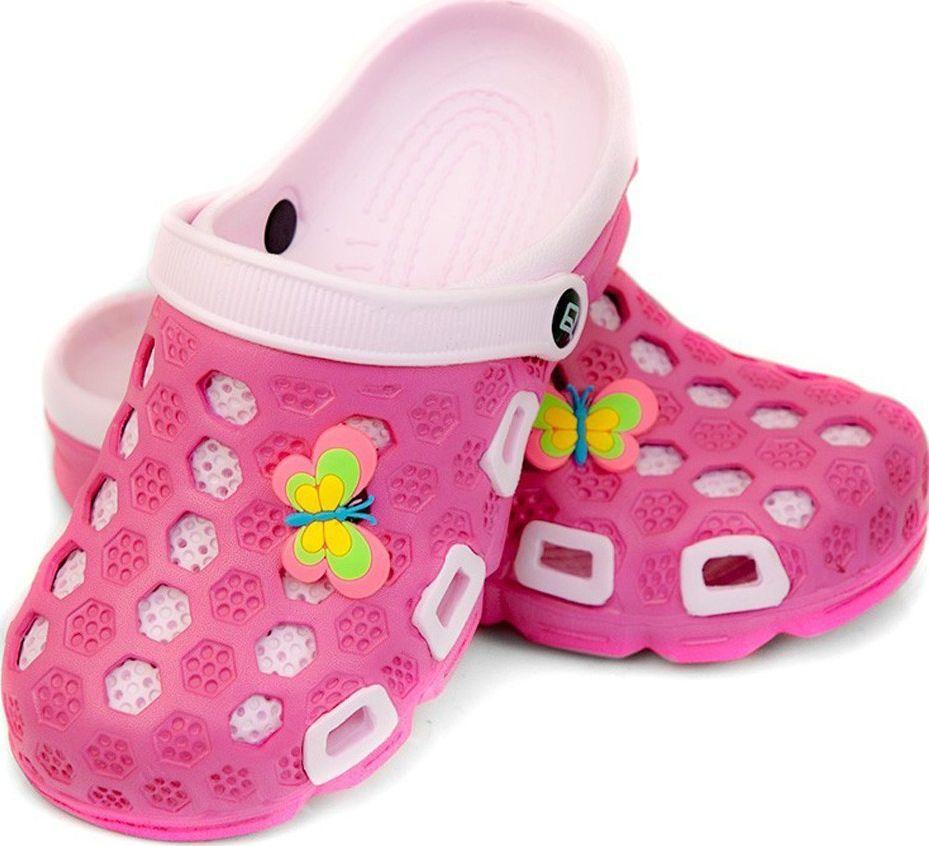 Aqua-Speed Klapki basenowe dla dzieci Aqua-speed Hawaii różowe kol.03 1