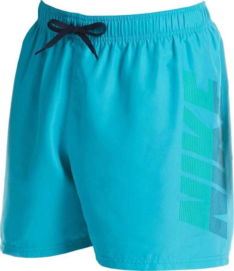 Nike Spodenki kąpielowe męskie Rift Breaker turkusowe NESSA571 376 r. S 1
