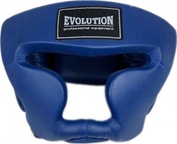 Evolution Kask bokserski Evolution treningowy niebieski OG-230 1