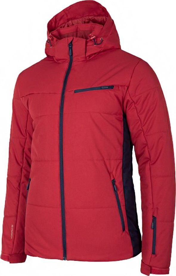Outhorn Kurtka narciarska męska Outhorn ciemna czerwień HOZ19 KUMN604 61S 1
