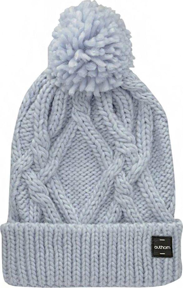Outhorn Czapka damska Outhorn jasny niebieski HOZ19 CAD615 34S 1