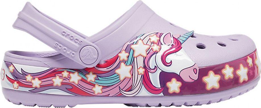 Crocs Crocs dla dzieci FunLab Unicorn Band Cg K fioletowe 206270 530 1