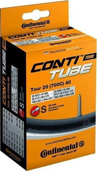 Continental Dętka Continental MTB 26 wentyl 42 mm Presta -47-62-559 Uniwersalny 1