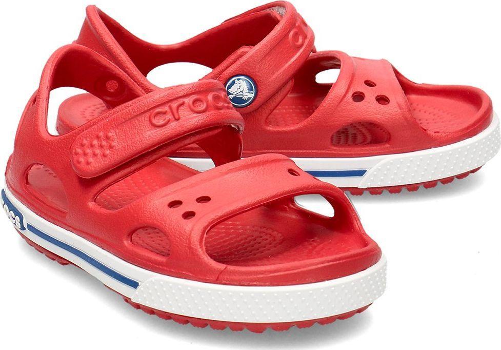 Crocs Crocs Crocband II - Sandały Dziecięce - 14854-6OE PEPPER/BLUE JEAN 29/30 1