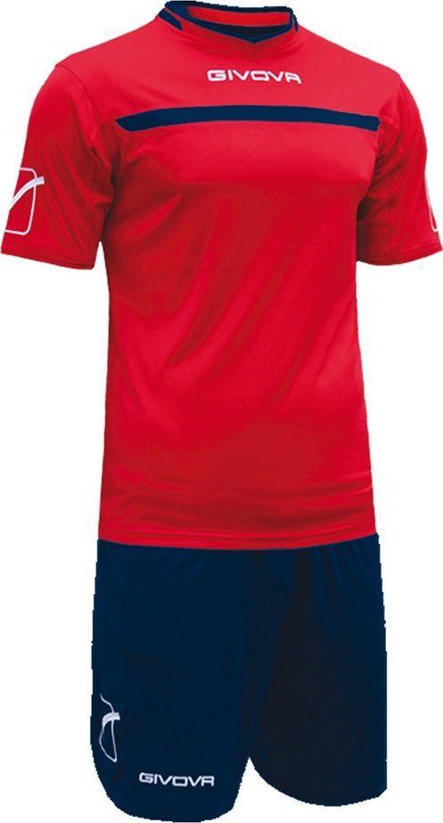 Givova Komplet Givova Kit One czerwono-niebieski KITC58 1204 1
