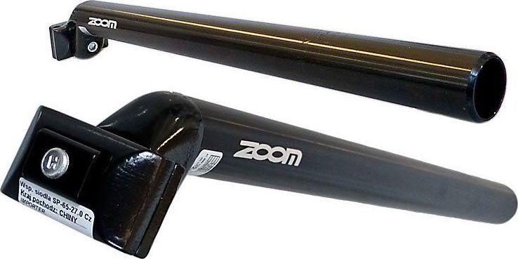 Zoom Wspornik siodła ZOOM SP-C207 400 mm czarny 26,4 mm 1