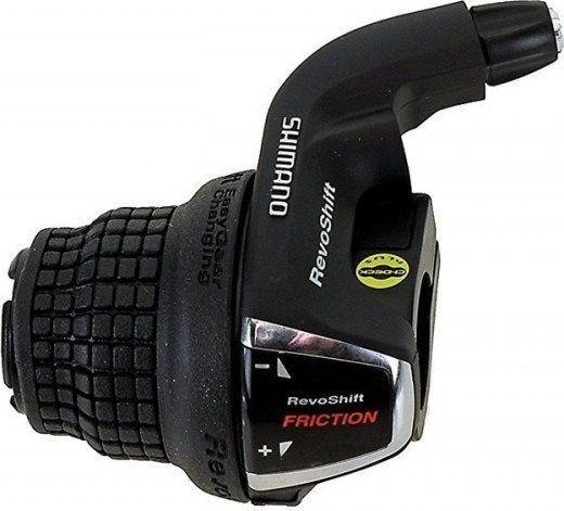 Shimano Dźwignia przerzutki Shimano Revo Shifter RS-35-3-rzędowa bez index Uniwersalny 1