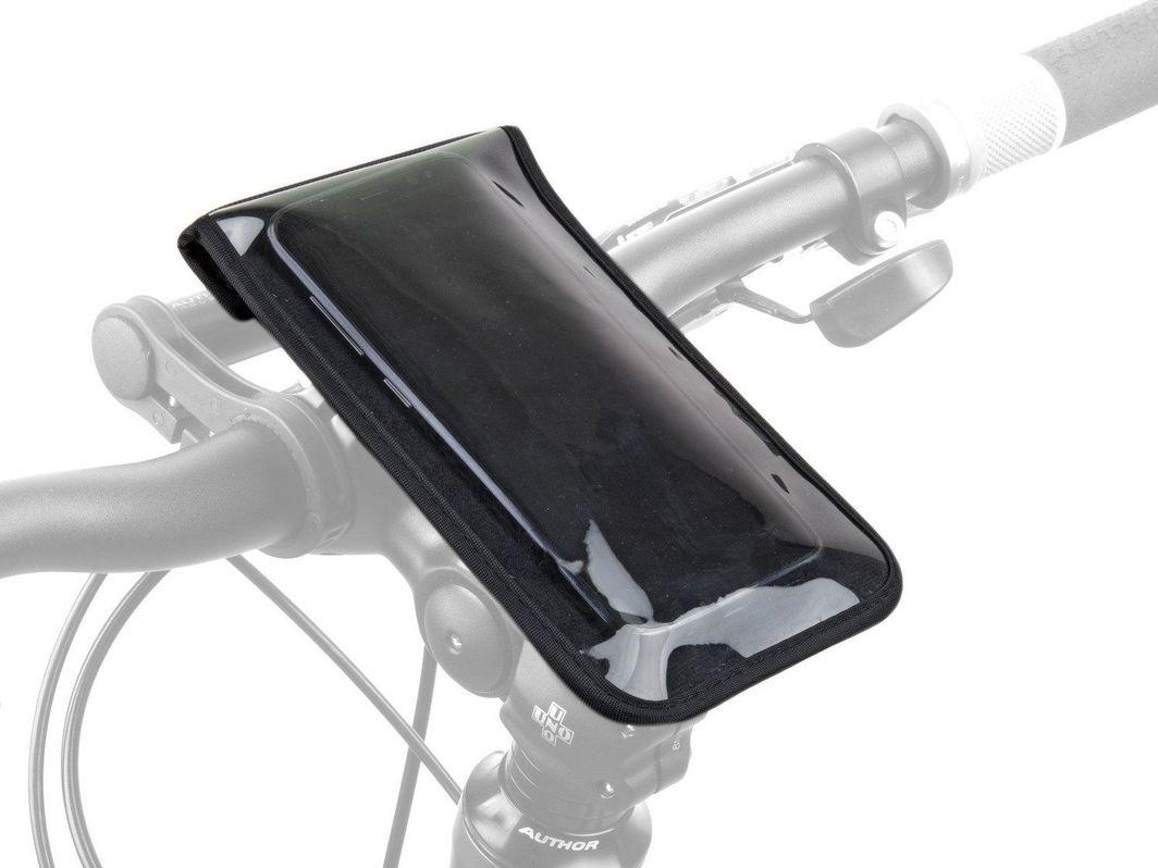Author Torebka na wspornik kierownicy AUTHOR A-H900 165x95mm (telefon) czarna Uniwersalny 1