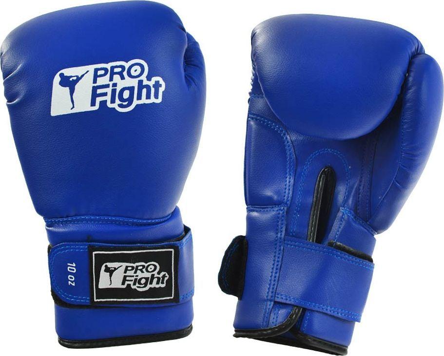 Profight Rękawice bokserskie Profight skóra Dragon niebieskie 1