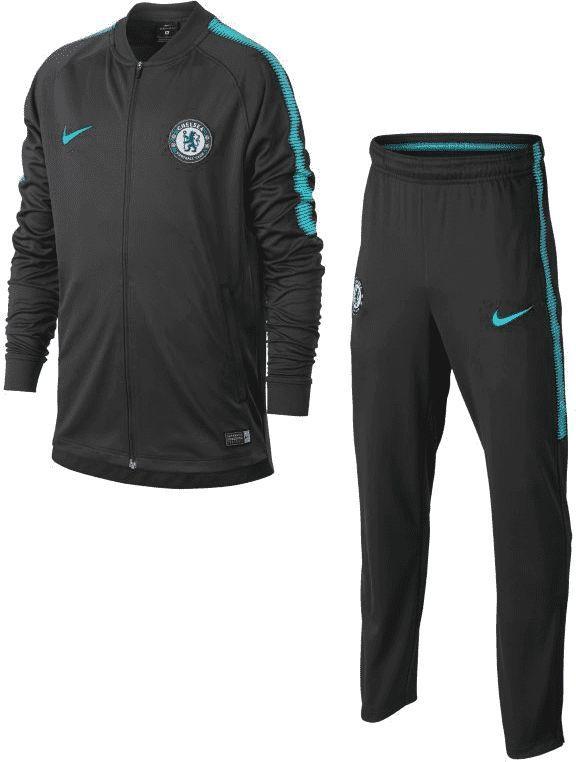 Nike Czarny dres Nike CFC DRY SQUAD 905396-064 JR 140 1