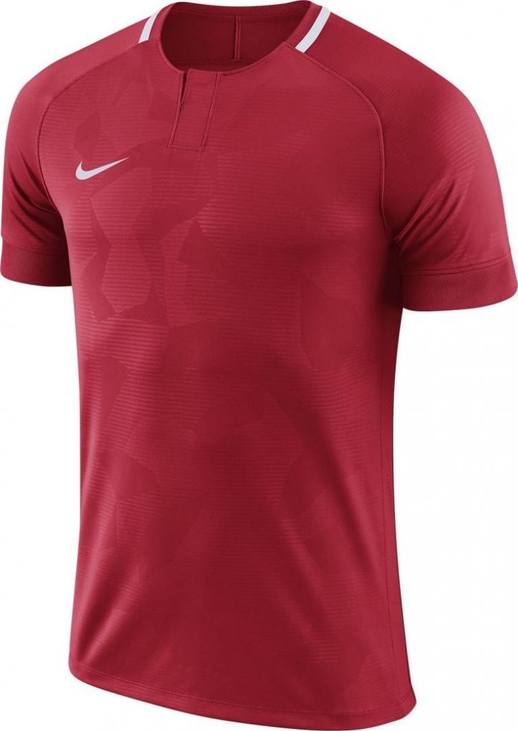 Nike Czerwona koszulka Nike Dry Chalang 894053-657 JR 140 1
