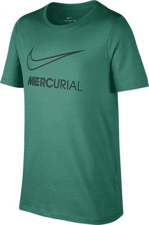 Nike Zielona koszulka Nike Mercurial Dry Tee Boot 913904-348 JR 128 1