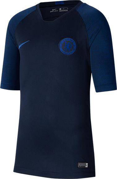 Nike Granatowa koszulka Nike Chelsea FC Breathe Strike AO6493-451 JR 128 1